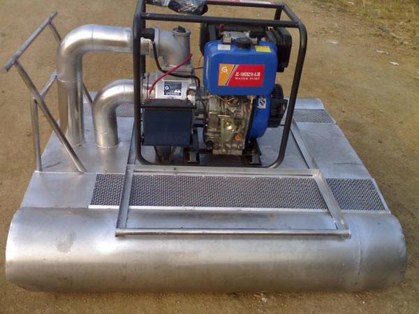 高效挖藕机水泵 信阳不锈钢全自动无损挖藕机 WOJ-003